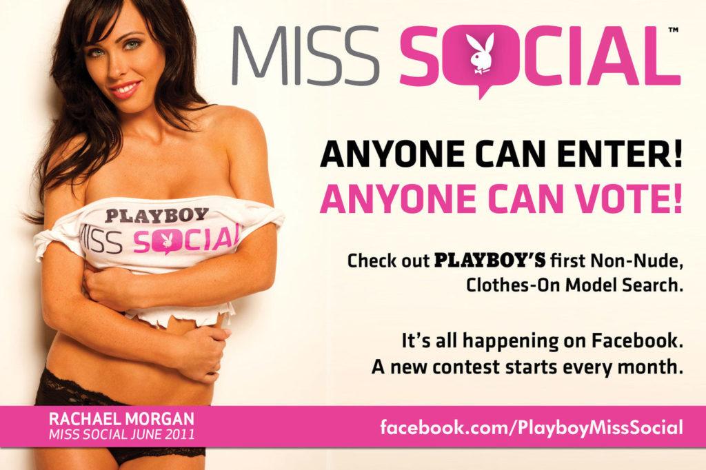 Rachael Morgan Playboy's Miss Social - image